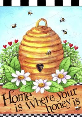 Bee Hive Home by Melinda Hipsher