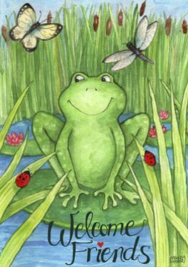 Frogs and Friends Welcome by Melinda Hipsher