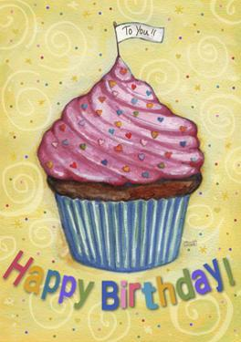 Happy Birthday To You Cupcake by Melinda Hipsher