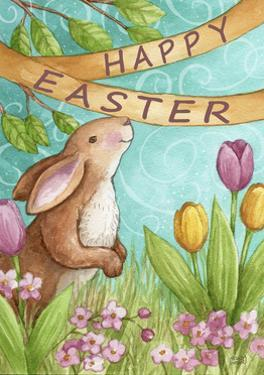 Happy Easter Bunny New 2 by Melinda Hipsher