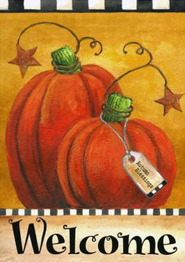 Pumpkin Autumn Welcome by Melinda Hipsher