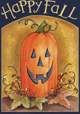 Pumpkin Face Happy Fall 2 by Melinda Hipsher