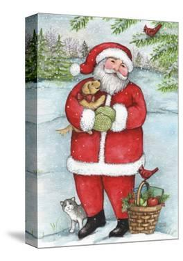 Santa With Friends by Melinda Hipsher