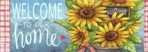 Sunflower Bucket Mail by Melinda Hipsher