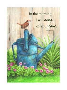Wren Watercan, Psalm by Melinda Hipsher