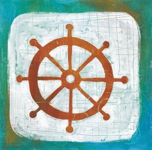 Ahoy IV Red Blue by Melissa Averinos