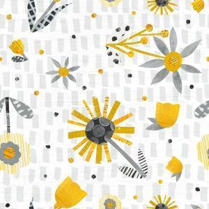 Bloom Boldly Pattern IX by Melissa Averinos