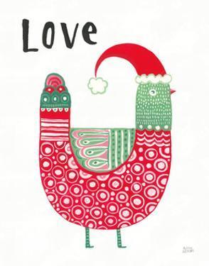 Christmas Tweets I by Melissa Averinos