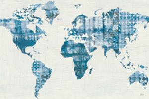 Kanari Map Indigo by Melissa Averinos