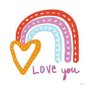 Love You Rainbow by Melissa Averinos