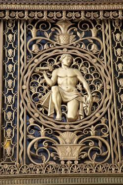 A Gilt Figure on the Art Deco Style Fisher Building by Melissa Farlow