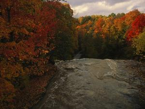 Cuyahoga River, as Seen from the Top of Brandywine Falls by Melissa Farlow