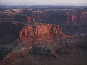 Scenic Rock Formations Photographed at Canyonlands National Park by Melissa Farlow
