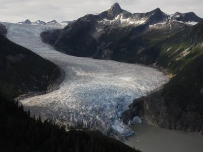 Taku Glacier is the largest glacier in the Juneau Icefield by Melissa Farlow