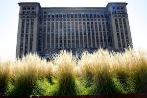 The Abandoned Beaux Art Neoclassical Style Michigan Central Station by Melissa Farlow