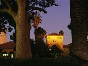 Twilight View of Buildings on the Stanford University Campus by Melissa Farlow