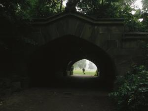 View Through Endale Arch Towards Prospect Parks Long Meadow by Melissa Farlow