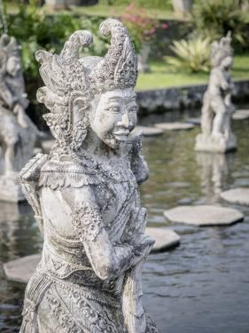 Statue, Tirta Gangga royal water garden, Bali, Indonesia, Southeast Asia, Asia by Melissa Kuhnell
