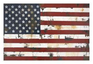 American Flag by Melissa Lyons