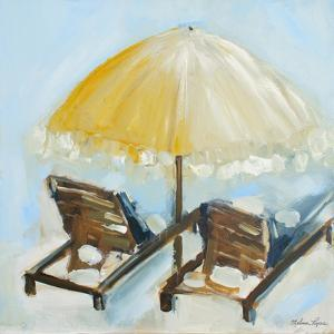 Beach Chairs II by Melissa Lyons