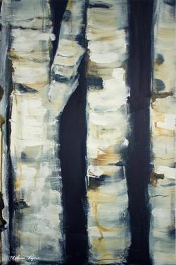 Birch Day II by Melissa Lyons