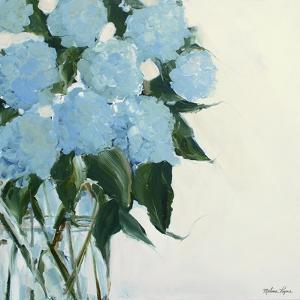 Dusty Blue Hydrangeas by Melissa Lyons
