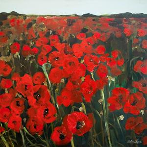 Poppy Field by Melissa Lyons