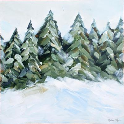 Winter Trees with Snow