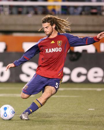 Oct 6, 2007, Chivas USA vs Real Salt Lake - Kyle Beckerman by Melissa Majchrzak