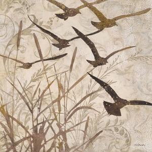 Birds in Flight 1 by Melissa Pluch