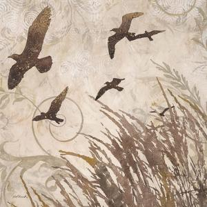 Birds in Flight 2 by Melissa Pluch