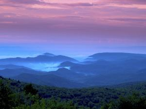 Sunrise on Grandfather Mountain by Melissa Southern