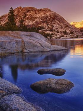Tenaya Lake at Sunset in Yosemite National Park by Melissa Southern