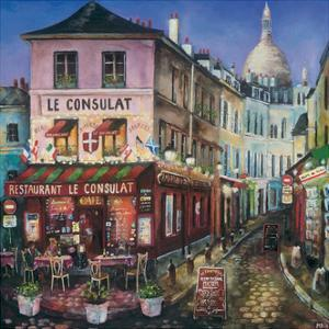 Le Consulat, Paris by Melissa Sturgeon
