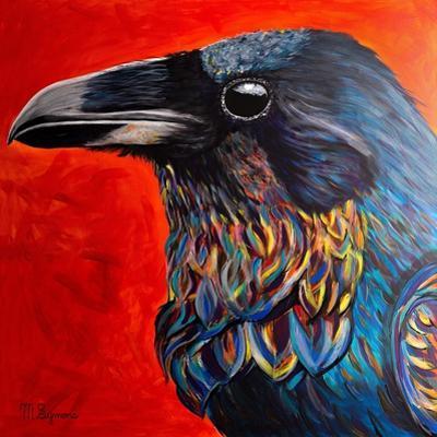 Glistening Raven by Melissa Symons