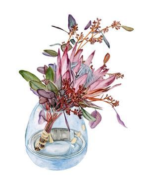 Awaken Protea I by Melissa Wang
