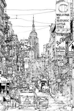 B&W City Scene II by Melissa Wang