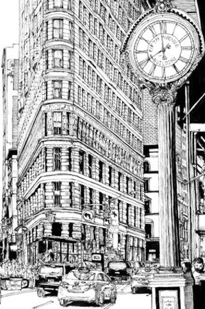 B&W City Scene VII by Melissa Wang