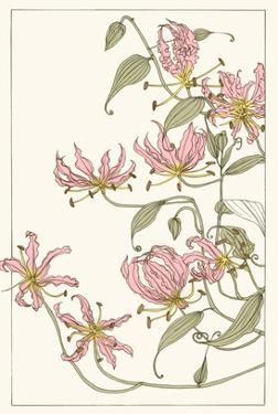 Botanical Gloriosa Lily I by Melissa Wang