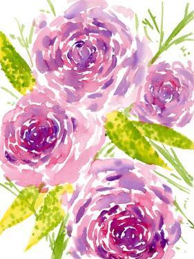 Bouquet Rose II by Melissa Wang