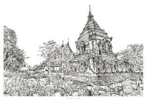 Chiang Mai I by Melissa Wang
