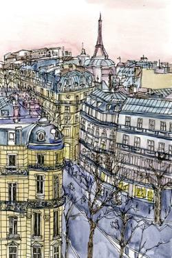 City Scene IX by Melissa Wang