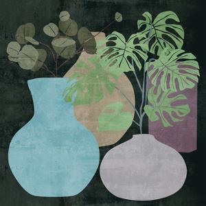 Decorative Vases I by Melissa Wang