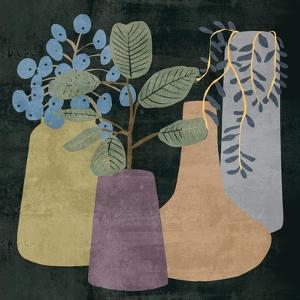 Decorative Vases III by Melissa Wang