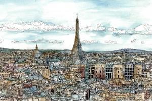 European Afternoon II by Melissa Wang