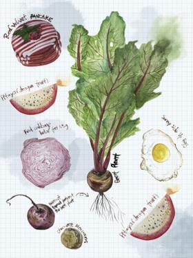 Food Sketches II by Melissa Wang