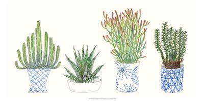 Four Succulents I by Melissa Wang
