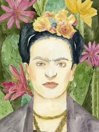 Frida Kahlo I by Melissa Wang