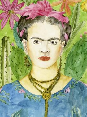 Frida Kahlo II by Melissa Wang