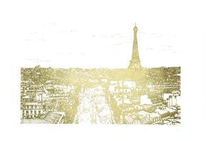 Gold Foil Tour of Europe by Melissa Wang